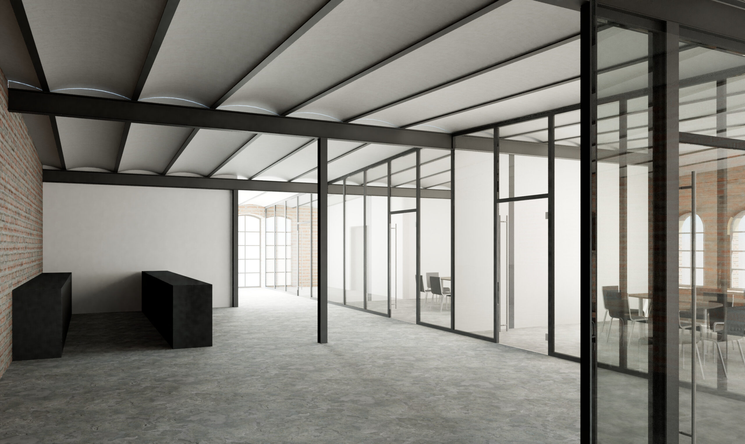 Obergeschoss Foyer